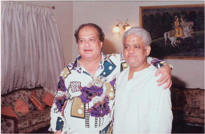 NONPAREIL, ELITE PEERLESS  FILMMAKERS  and                      Laxmikant-Pyarelal's FETCHING Music.