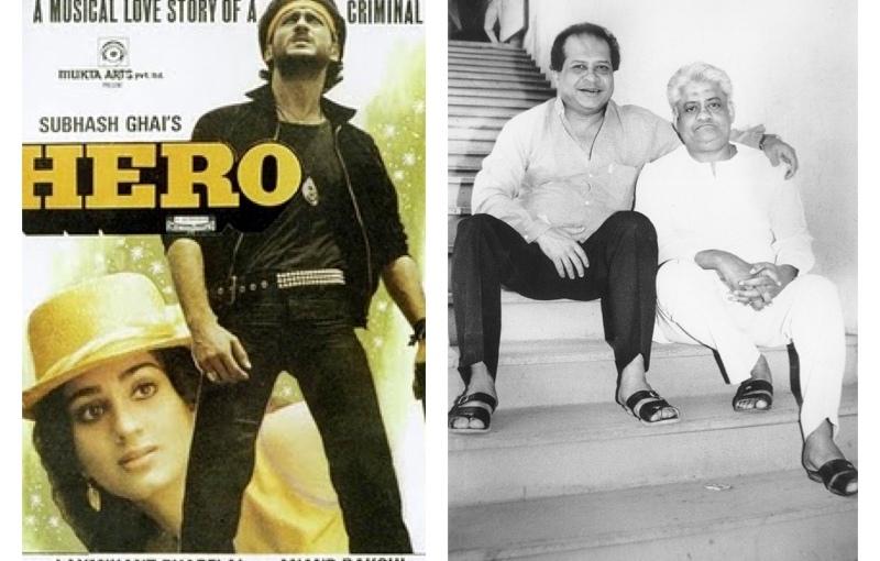 HERO 1983. Laxmikant-Pyarelal & Subhash Ghai. A PERFECT BOLLYWOODMUSICAL