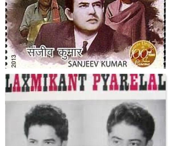 Pantomimist Sanjeev Kumar and Songful Laxmikant-Pyarelal
