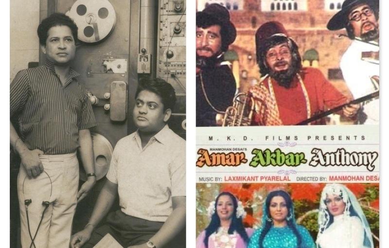 Manmohan Desai Laxmikant-Pyarelal                                                                                       AMAR AKBAR ANTHONY, MusicalBlockbuster.