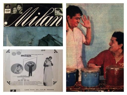 :: MILAN ::  1967 :: A Musical Tribute to LAXMIKANT :: Laxmikant –Pyarelal